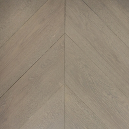 Oak Multilayer Chevron MAYFAIR White Grey Lacquer MO1057