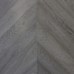 Oak Multilayer Chevron SIENNA Grey Reaction Stain Lacquer B9040