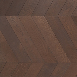 Oak Multilayer Chevron SMOKED Graphite Grey Brushed & Lacquer BTH004
