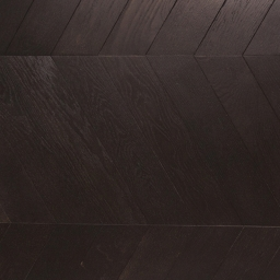 Oak Multilayer Chevron VERONA Noir Brushed & Lacquered MO1024