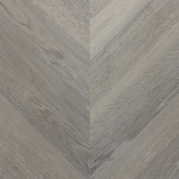 Oak Multilayer Chevron VOGUE Dark Smoked White Light Grey Lacquer B9030
