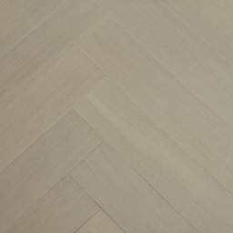 Oak Multilayer Herringbone LINEN WHITE White Lacquered MO1054