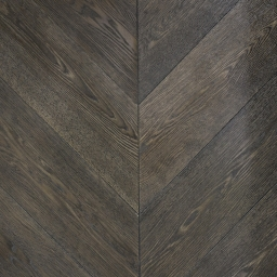 Oak Multilayer Chevron MANSION GREY Grey Stain Lacquer MO1053