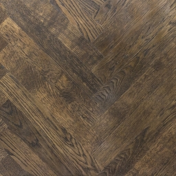 Oak Multilayer Herringbone AUBURN Chestnut Stain Lacquer MO1009