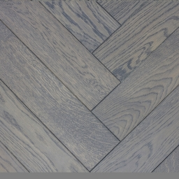 Oak Multilayer Herringbone CLOUDY GREY Grey Lacquer MO1033
