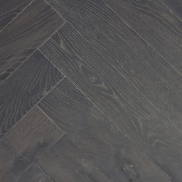 Oak Multilayer Herringbone MIST Antique Distressed Brown Reaction Stain White Lacquer ATQ018