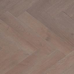 Oak Multilayer Herringbone PEBBLE WHITE GREY  Grey Oak Classic Satin White Grey Lacquer MO1002WG