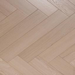 Oak  Multilayer Herringbone SANDY WHITE White Lacquer MA015