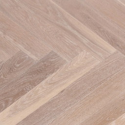 Oak Multilayer Herringbone SMOKED White Brushed & Lacquer BTH006