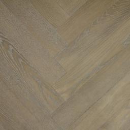 Oak Multilayer Herringbone STRIPPED OAK White Grey Lacquer MO1029