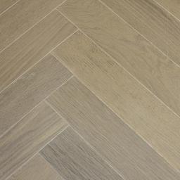 Oak Multilayer Herringbone VOGUE Dark Smoked White Light Grey Lacquer B9030