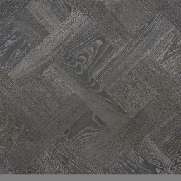 Oak Multilayer Versailles Panels BERKELEY Black Reaction Stain Bleached Brushed & Lacquer 171714