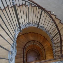 Bespoke Stair Case Natural Matt Lacquer